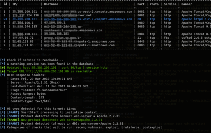Jok3r v3 - Network & Web Pentest Automation Framework